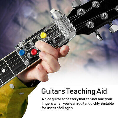 Portatile Guitar Learning System Teaching Aid ABS Pain-Proof Chord Buddy E5K2