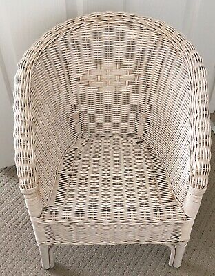 White Cane Doll's Chair Also Suitable For A Small Child