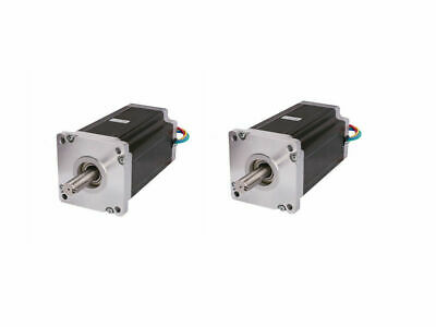2PC Nema42 Stepper Motor 201mm 4120oz-in 8A dual shaft 4wires 42HS6480B CNC KIT