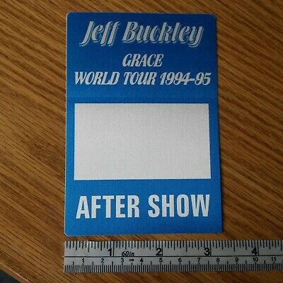 JEFF BUCKLEY band unused 1994-95 concert tour AFTER SHOW backstage pass - OTTO
