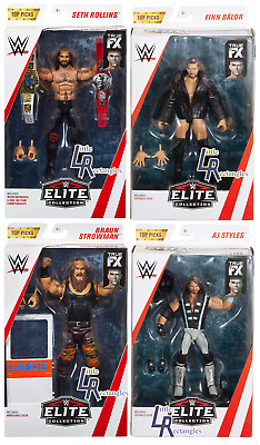 WWE Figures - Elite Top Picks 2019 - Mattel - New - Boxed - SHIPPING COMBINES