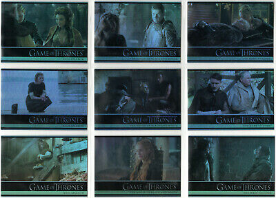 Game Of Thrones Season 5 Foil Parallel Base Insert Set (1-100)