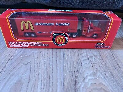 Racing Champions NASCAR McDonald's 1:87 Scale Die-Cast Racing Team Transporter