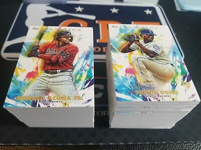 2020 Topps Inception YOU PICK YOUR BASE CARD RC Trout