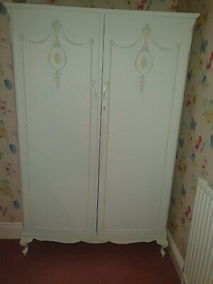 Vintage  Victorian /French Juliette Style Wardrobes. Shabby Chic. Painted White