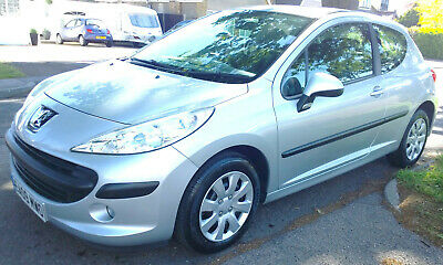Very Low Miles Only 8,380 Miles Peugeot 207 S 3Dr Hatchback 1 Owner Silver Fsh