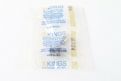 Kings Electronic 3195098 RF Coaxial Connectors (Lot of 20) - New