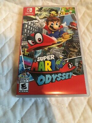 Super Mario Odyssey (Nintendo Switch, 2017) unwrapped perfect