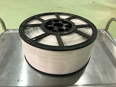 White Pallet Strapping 16mm Wide.