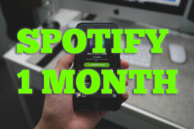 Account Spotify 1 Month Premium new Subscription GUARANTED FAST DELIVERY MUSIC
