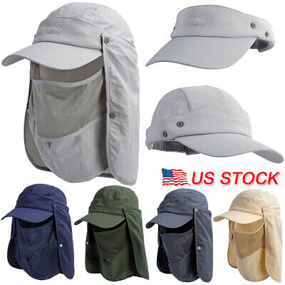 Outdoor Protective Cover Hats Dustproof Anti-Spitting Face Shield Baseball Cap