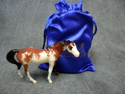 Breyer * Coco * Glossy Pinto Thoroughbred 712214 Stablemate Club Model Horse
