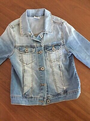 Zara Girls Denim Jacket Size 8