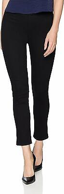 NYDJ Womens Pants Black Size 14 Lift Tuck Pull-On Skinny Ankle Stretch $119 669