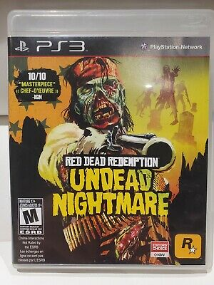 Red Dead Redemption: Undead Nightmare (Sony PlayStation 3, 2010 PS3)-Complete