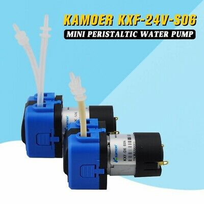 Kamoer KXF-24V-S06 Mini Peristaltic Water Pump With DC Motor NEW
