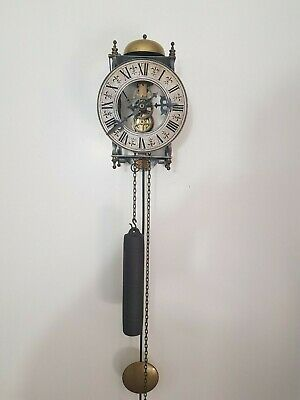 Antique Style Skeleton Wall Clock, 8 days movement