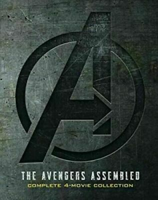 Marvel Avengers 1-4 (DVD) New - Complete 4 Movie Collection ...Endgame Included!