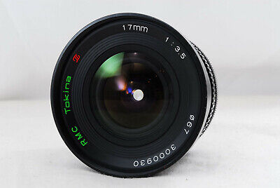 Tokina RMC 17mm f /3.5 Lens SLR ZOOM LENS for Canon FD Mount from Japan