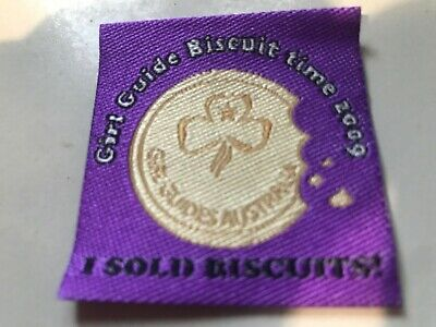 Girl Guides / Scouts Biscuits 2009