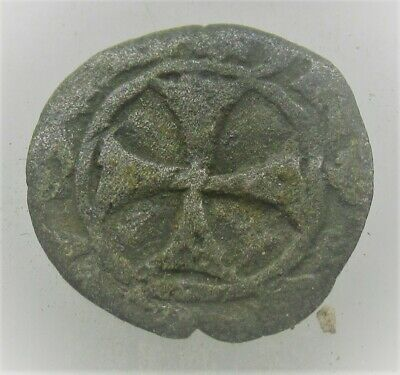 Nresearched Ancient Byzantine Hammered Crusaders Penny