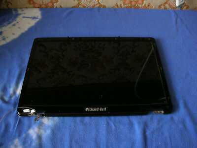 """Display Packard Bell Easynote W3420 17 """" LCD+Frames +Hinges +Cables"""