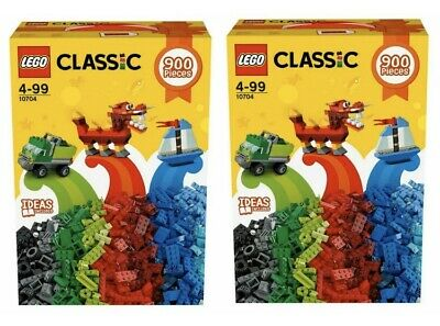 Lego 10704 Classic Large Creative Box x 2 Mixed Color Size Bricks 1800 pieces