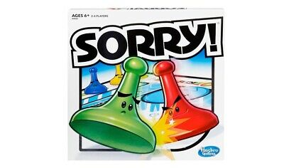 Sorry And Connect Four HASBRO Board Games Kids/Family *NEW*