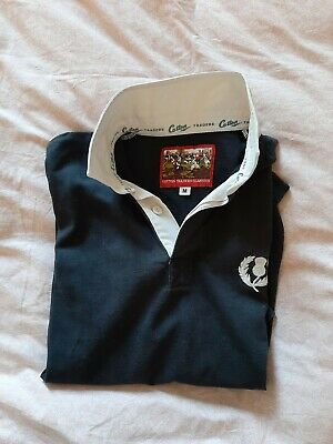 Scotland ecosse  Adultes M Cotton Traders Classics Rugby Union shirt jersey