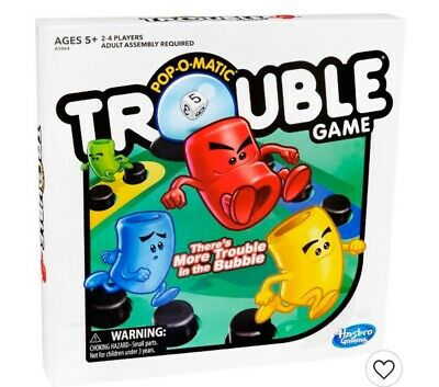 Trouble And Sorry HASBRO Kids/Family Board Game *NEW*