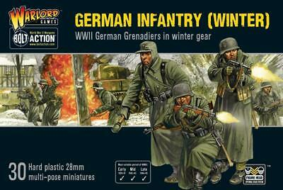 Warlord Bolt Action German 28mm German Infantry (Winter) Box SW