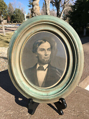 Very Early and Rare Abraham Lincoln Etching by JOHN SARTAIN!