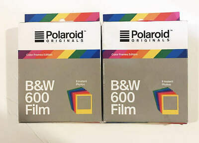 Polaroid Film B&W 600 Color Frames Edition