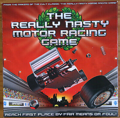 UPSTARTS SPARE PARTS THE REALLY NASTY MOTOR RACING GAME REPLACEMENT PIECES