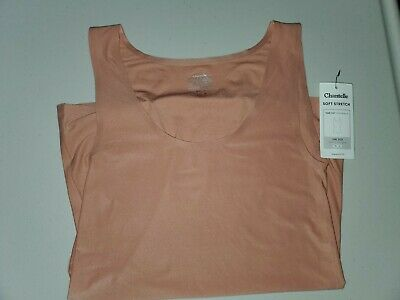 One Size Chantelle Soft Stretch Tank Top 2646 Vest Smooth Reversible