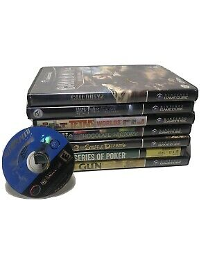Lot Of 8 Gamecube Games most complete with cases manuals