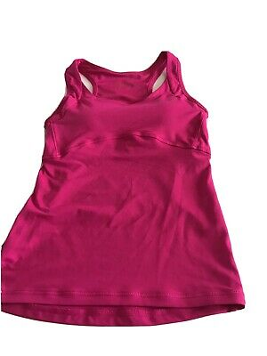 Pink Sports Top By USA Pro Size 8 Excellent Condition