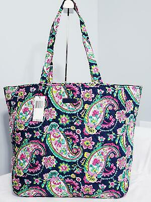 Vera Bradley Petal Paisley Grand Tote 2.0 Travel Shopping Purse NWT