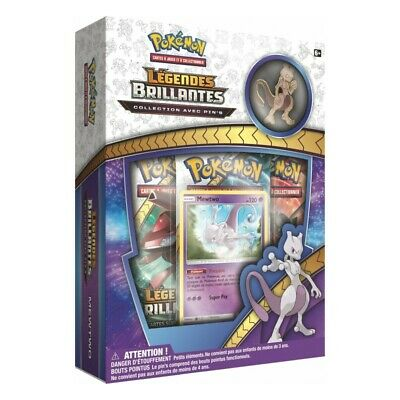 pokemon booster Coffret Pokemon Pin s MEWTWO Legendes Brillantes Soleil et Lune