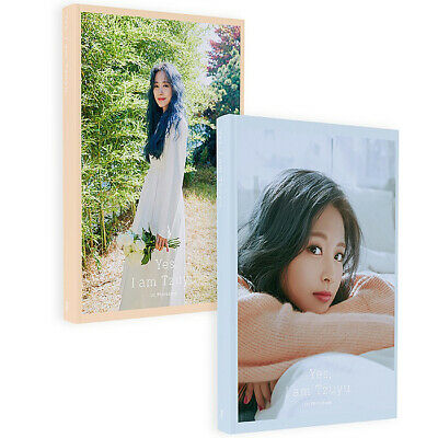 TWICE TZUYU YES, I AM TZUYU. 1st Photo Book+Post Card Set+Pre-Order Item SEALED