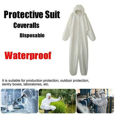 Waterproof Non-woven Isolation Clothing Disposable Coveralls Protective Suit