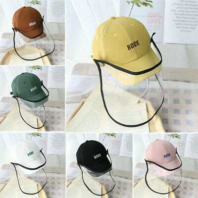 Anti-spitting Protective Hat Dustproof Cover Kids Baby Boys Girls Peaked Cap AU