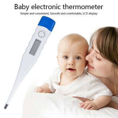 Digital LCD Thermometer Safe Baby Oral Alarm Adult Health Body Check Temperature