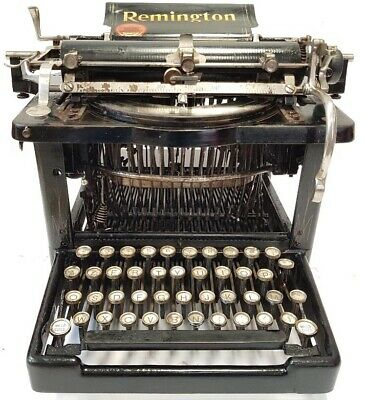 Antigua maquina de escribir  REMINGTON nº 6 ,circa 1895 rare antique TYPEWRITER