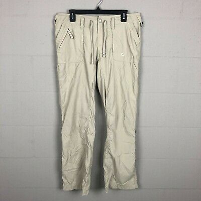 The North Face Women's Outdoor Pants Size 10 Khaki RL19
