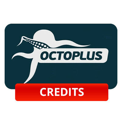 OCTOPLUS BOX SERVER CREDIT NEW USER or REFILL OLD ACCOUNT (100 PACK) FAST