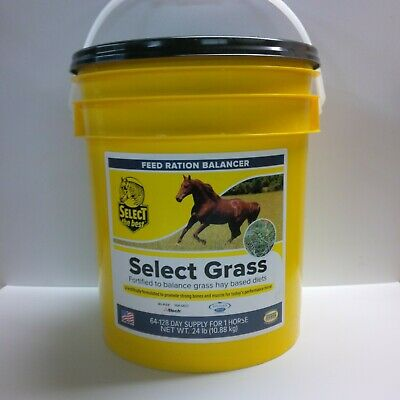 """Equine Balanced Daily Supplement For Horses On Grass Hay """"Select Grass"""" 24 Lbs."""