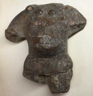 Pre-Columbian Pregnant Female Terracotta PRE-CLASSIC Ancient Pottery Artifact