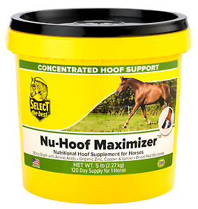 Equine Select The Best Nu-Hoof Maximizer Supplement For Horses 5 Lbs (2.27Kg)