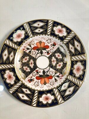 """Set Of 6 Royal Crown Derby Traditional Imari 6.25"""" Bread Plates ALL 1ST QUALITY"""